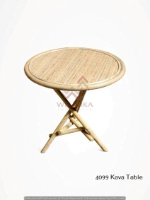 Kava Rattan Table