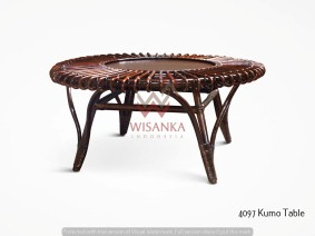 Kumo Rattan Table