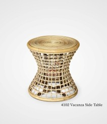 Vacanza Rattan Side Table