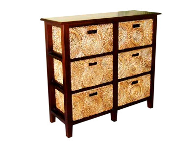 Wenny Seagrass Woven Drawer