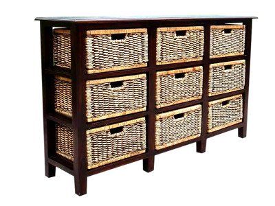 Millack Wicker Drawer