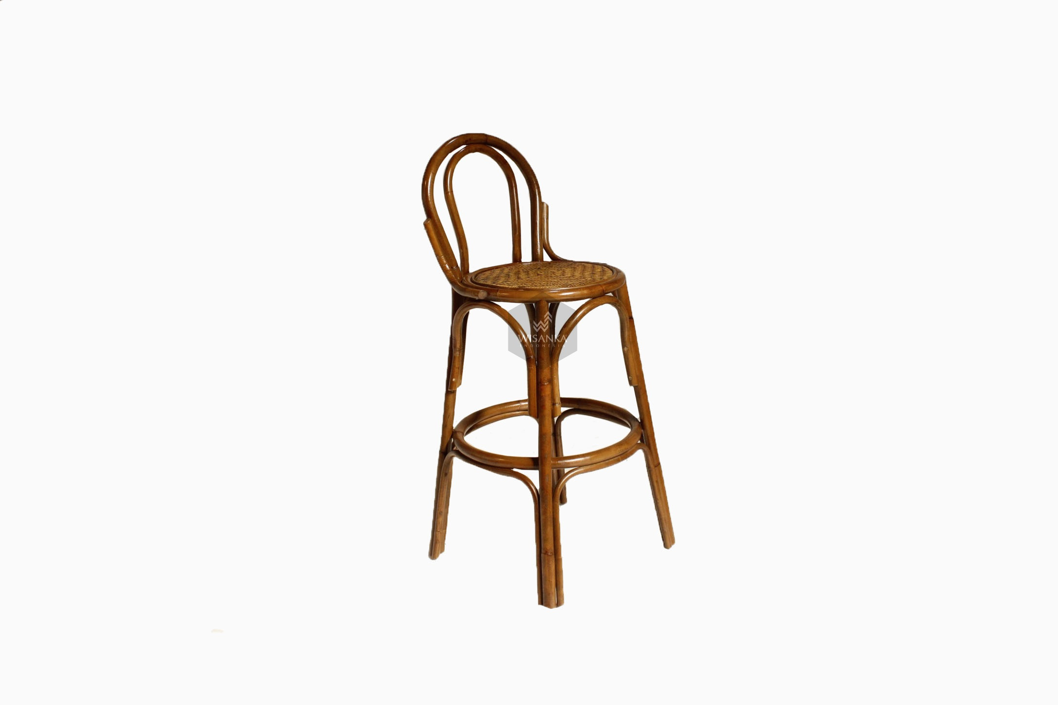 Chloe Rattan Bar Stool